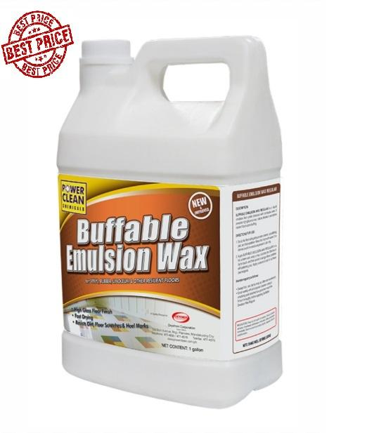 Best Price Supreme Buffable Floor Wax Polish 1 Gallon Emulsion Shine 4 Liter By Pocket Savers