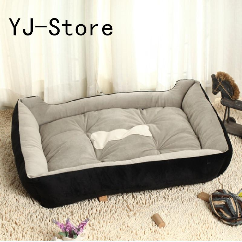 [ready Stock]plus Size Large Dog Bed Kennel Mat Soft Pet Dog Puppy Warm Bedhouse Plush Cozy Nest Dog House Pad Warm Pethouse(s/m/l) By Yj-Store.