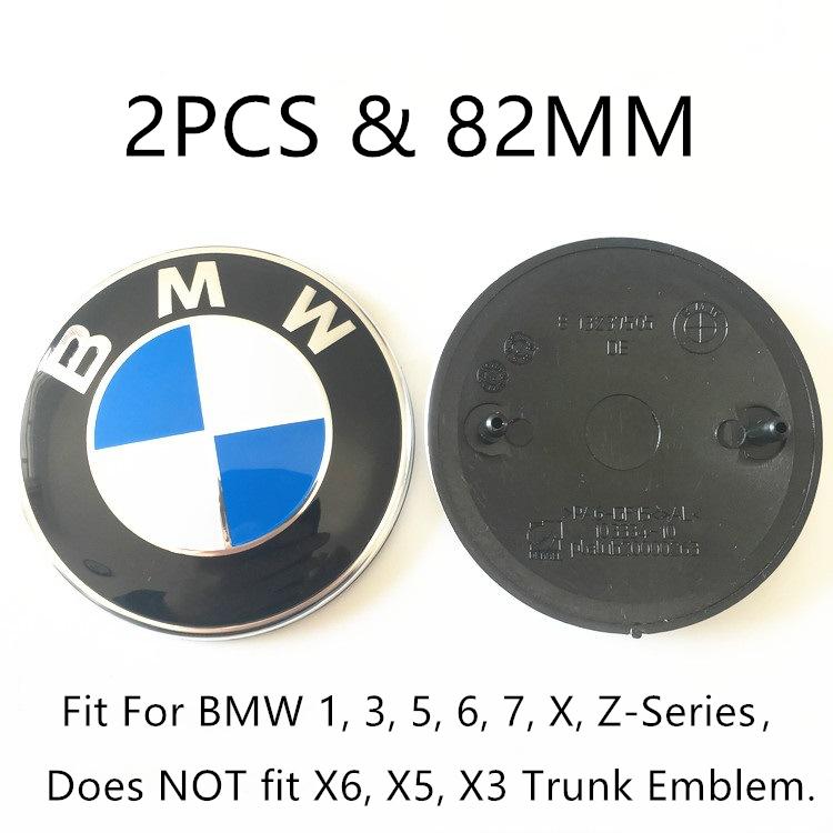 M SPORT MODELS BMW BONNET BADGE SIZE 82MM ORIGINAL FOR 1 2 3 4 5 6 7 SERIES SE
