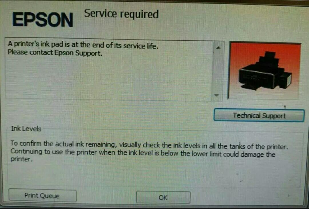 Epson L120 Unlimited Resetter