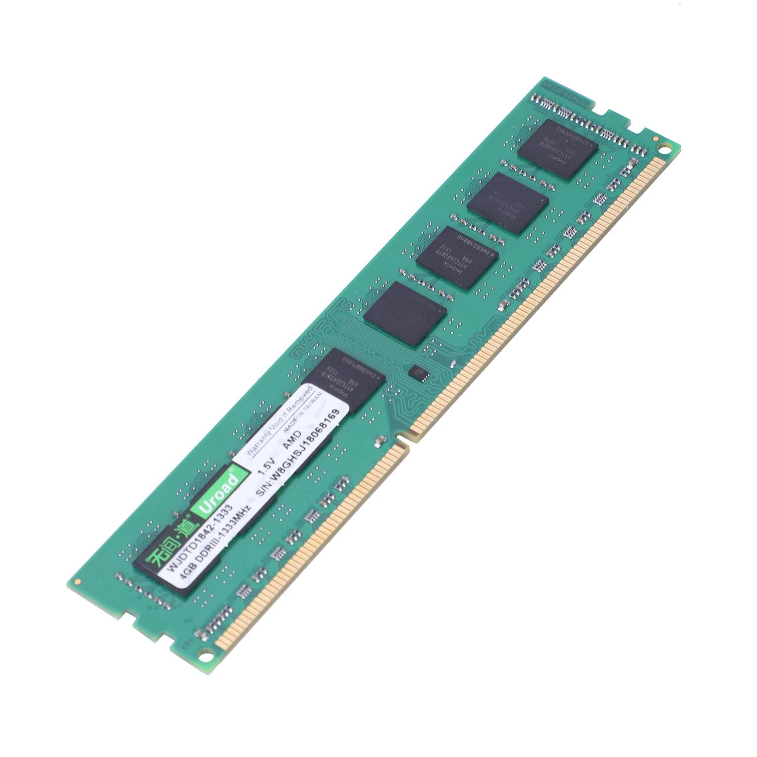 Uroad 4gb Ddr3 Ddr3i 1600mhz Ram Desktop Memory Dimm Only For Amd Computer Pc(4gb) By Jwerlyday