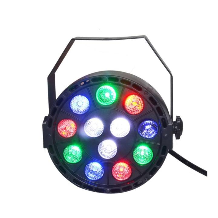 12 LED RGBW 4IN1 DMX 8CH Beam Stage Par Lighting