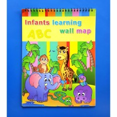 14in1 Learning Wall Chart Educational Book For Toddlers And Kids By Christine Gutierrez-Eliseo.