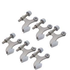 6-Pack Hinge Pin Satin Nickel Door Stopper By Galleon.ph.
