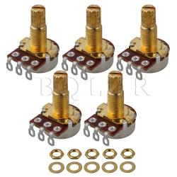 A500k guitar potentiometers Set of 5