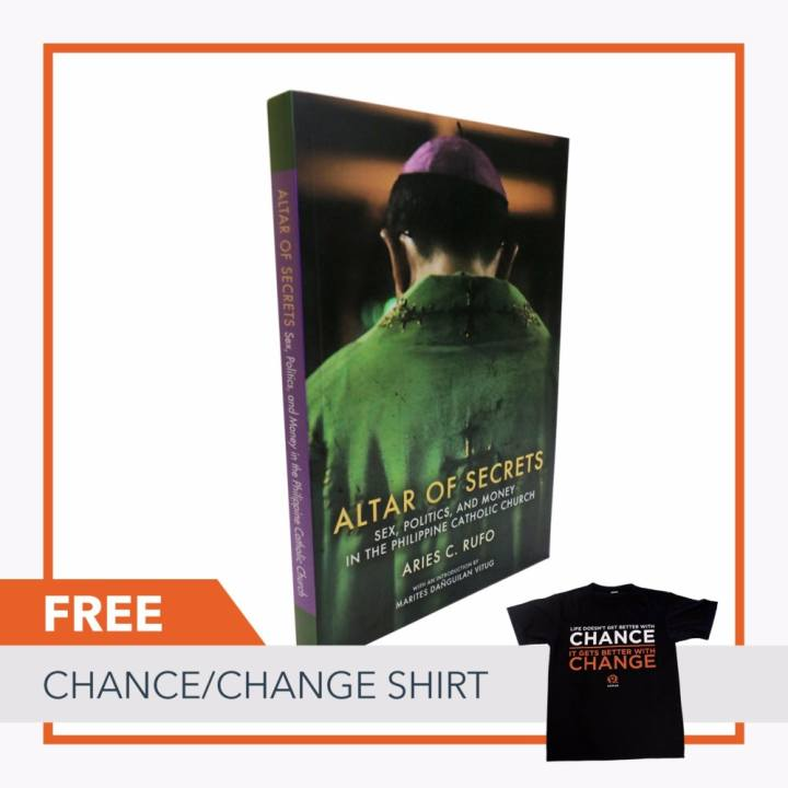 Altar of Secrets : Sex, Politics, and Money in the Philippine Catholic Church FREE Chance Change Shirt (Size: Extra Large)
