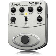 Behringer BDI21 V-Tone Bass Amp Modeler