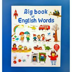 Big Book Of English Words - Educational Book For Kids By Christine Gutierrez-Eliseo.