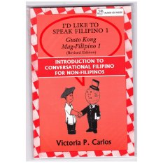 Books Id Like To Speak Filipino 1 With Audio Cd (red) By Victoria P. Carlos Publishing.