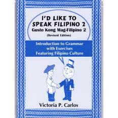 Books Id Like To Speak Filipino 2 (blue) By Victoria P. Carlos Publishing.