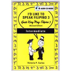 Books Id Like To Speak Filipino 3 With Audio Cd (yellow) By Victoria P. Carlos Publishing.