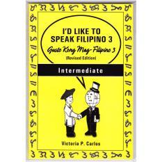 Books Id Like To Speak Filipino 3 (yellow) By Victoria P. Carlos Publishing.