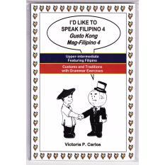 Books Id Like To Speak Filipino 4 (white) By Victoria P. Carlos Publishing.