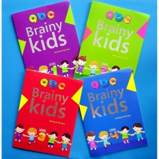 Brainy Kids Learning For The Future Toddler Activity Book Set By Christine Gutierrez-Eliseo.