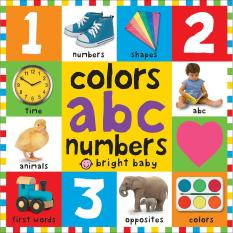 Bright Baby Colors Alphabet Numbers Educational Book By Julianne Rain Store.