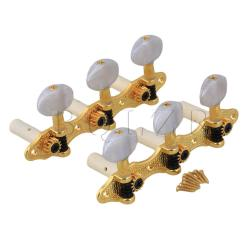 Classical Guitar HeavyTuners Machine Heads Set (Gold)