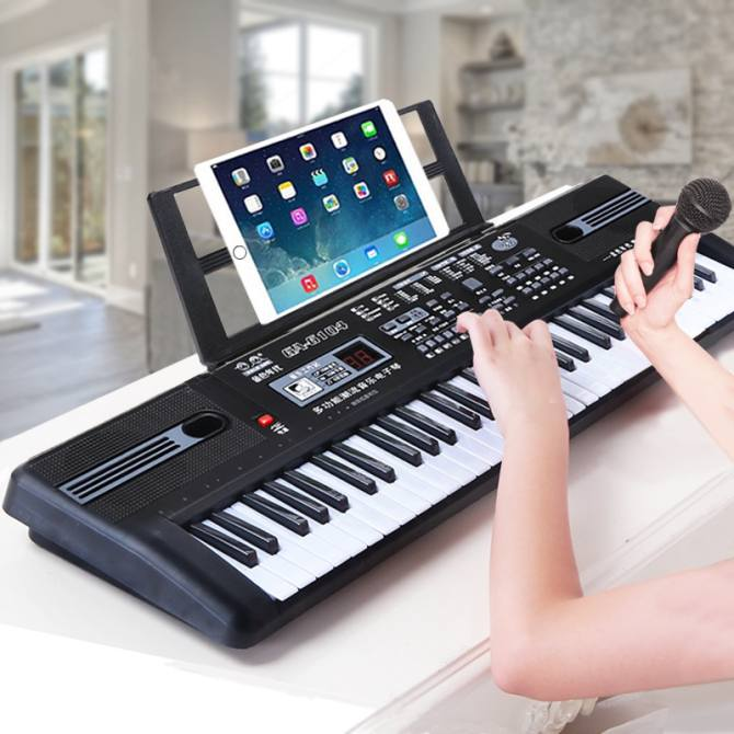 Digital Music Electronic Keyboard Key Board Gift Electric Piano - intl