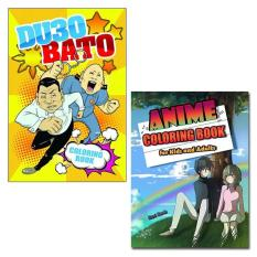 DU30 Bato Coloring Book Anime For Kids And Adults