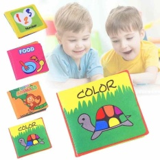 Educational Play Kid Baby Cloth Book Developmental Boy Girl Toys Intelligence - Intl By Lagobuy.