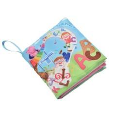 Fabric Books Educational Cloth Book Preschool Training Cartoon Baby Toy Alphabet By A Mango.