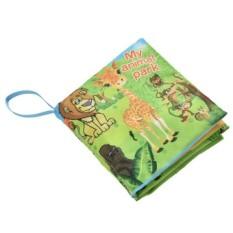 Fabric Books Educational Cloth Book Preschool Training Cartoon Baby Toy Animal Park By A Mango.