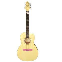 Greg Bennett Acoustic Guitar (Yellow)