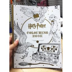 Harry Potter Coloring Book Adult Anti Stress Art Therapy