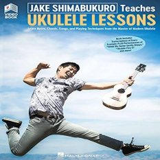 Jake Shimabukuro Teaches Ukulele Lessons: Book With Full-Length Online Video By Galleon.ph.
