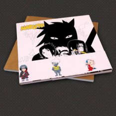 Japanese Anime Naruto Paint Book Manga Coloring Gifts