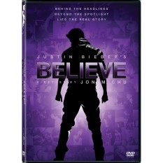Justin Biebers Believe Dvd By C-Interactive Digital Entertainment.