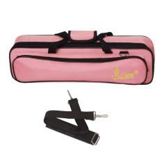 LADE Padded Flute Bag Backpack Soft Case Lightweight with Carry Handle Shoulder Strap - intl