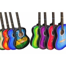 Lumanog Jr Black Guitar (assorted Color) By The Sonic Shop.
