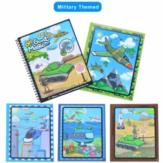 Magic Water Drawing Book Reusable Coloring Acticity Board Painting Picture Great Gift For Children Kids