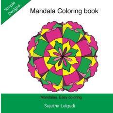 Mandala Coloring Book Mandalas Easy Simple Adult