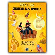 Music Books: Just For Fun Swingin Jazz Ukulele By Integrated Music Matrix Corp.