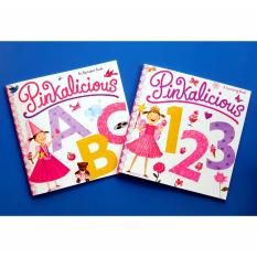 Pinkalicious Alphabet And Counting Numbers Book Set For Toddlers By Christine Gutierrez-Eliseo.
