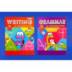 Pre-Writing And Grammar For Kindergarten Kids Activity Learning Book By Christine Gutierrez-Eliseo.