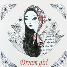Secret Garden Dream Girl 2016 New An Inky Treasure Hunt And Coloring Book For Children Adult