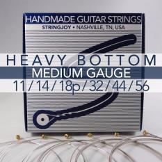 Stringjoy Electric Guitar String Set - DROP C (11 14 19 32 44 56)
