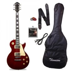 Thomson Les Paul Bolt-On Electric Guitar (wine Red) By Click Sports.
