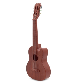 Ukelele Guitar with 4 Strings Colorful Lovely Musical Instrument Guitars Christmas Gift(Mahogany) - intl