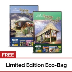 Usapang Pamilya Collection Volume #5 and Usapang Pamilya Collection Volume #8 DVD with FREE Eco Bag