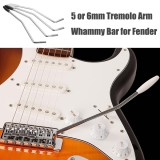 3Pcs 6mm Tremolo Arm for Fender Squier Strat Guitar Whammy Bar without Tip
