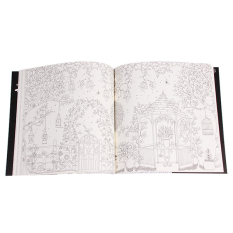 Yingwei Coloring Book Secret Garden 96 Pages English