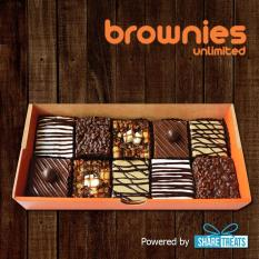 Brownies Unlimited Box Of 10(pre-Assorted) Sms Evoucher By Share Treats.