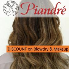 Piandre Salon Php 3000 Gift Voucher 20% Off On Blowdry & Makeup By Gifted.ph