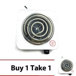 101 Single-Hot Plate Electric Cooking (White) Buy 1 Take 1