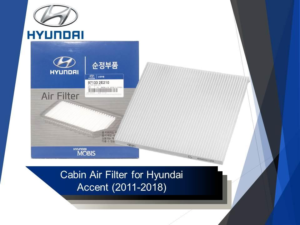 2009 Hyundai Accent Air Filter