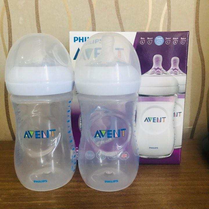 Philips Avent Natural 260ml 9oz 2pack Feeding Bottles By Everything Goes.
