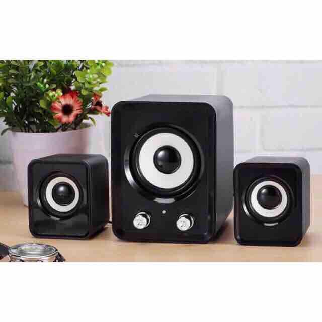 3 in 1 3 5mm USB Digital Audio Multimedia Bass Speaker 3 in 1 Subwoofer  FT202 2 1